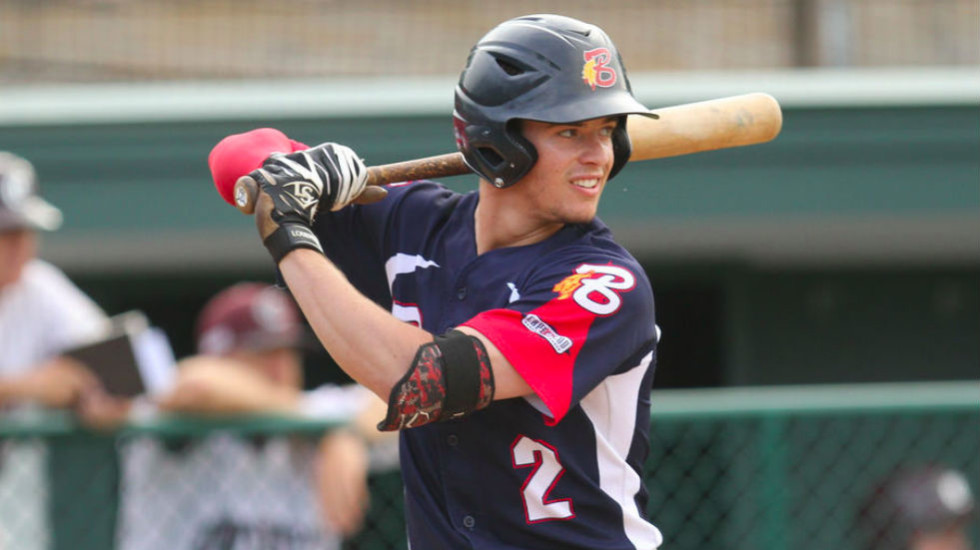 Nick Solak starred for Bourne last summer and was tabbed as a first-team All-American by D1Baseball.com