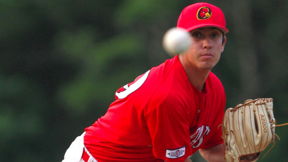 Eder Erives made his first start of the spring and summer seasons and tossed 6.2 shutout innings for Orleans.