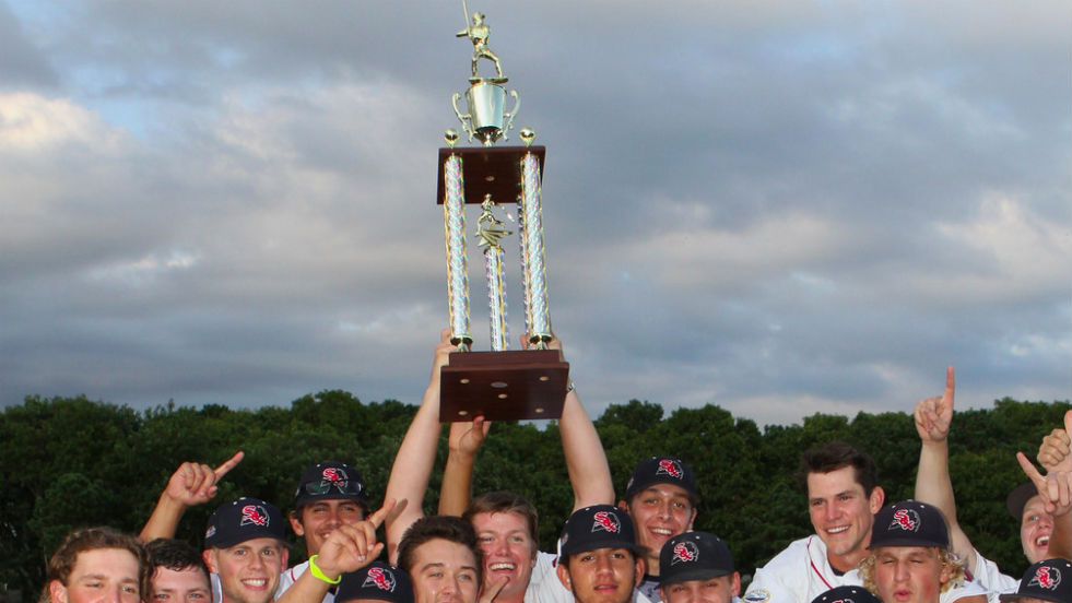 Y-D raised the league championship trophy last year. Who's next?