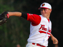Eric Lauer led the Cape League in strikeouts last summer and will be part of a marquee pitching match-up on college baseball's opening day.