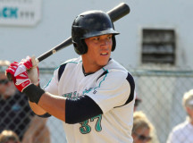Aaron Judge hit five home runs for Brewster in 2012 and is now one of the Yankees' top prospects.