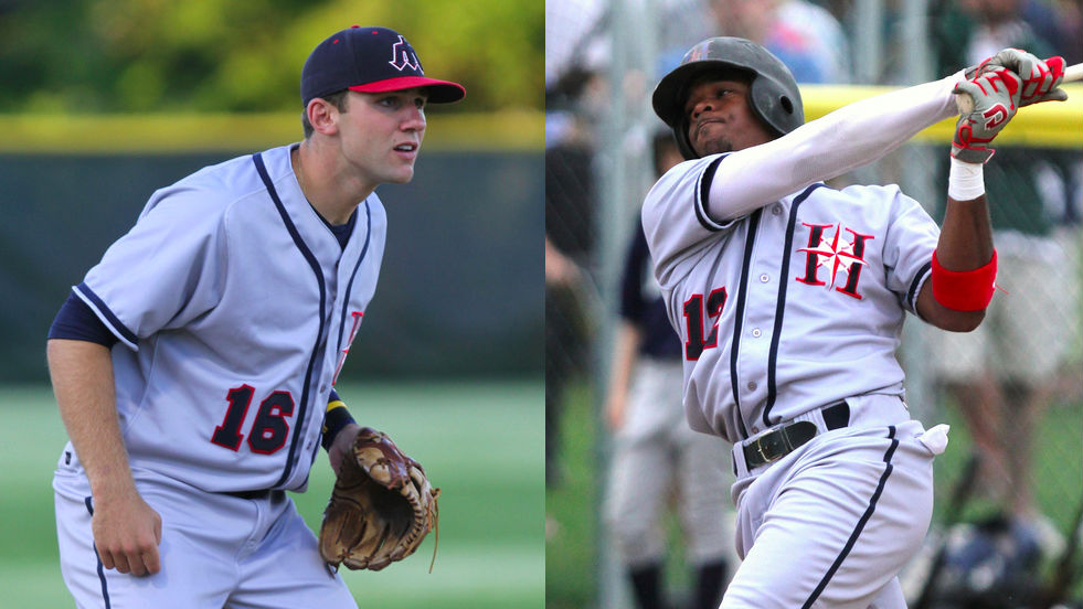 Eric Jagielo and Phil Ervin blasted 24 of Harwich's Cape League record 60 home runs in 2012.