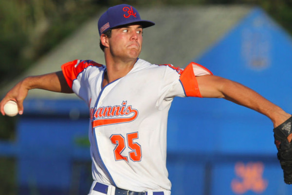 Dakota Hudson, pictured in Hyannis last summer, has been dominant for Mississippi State this spring.