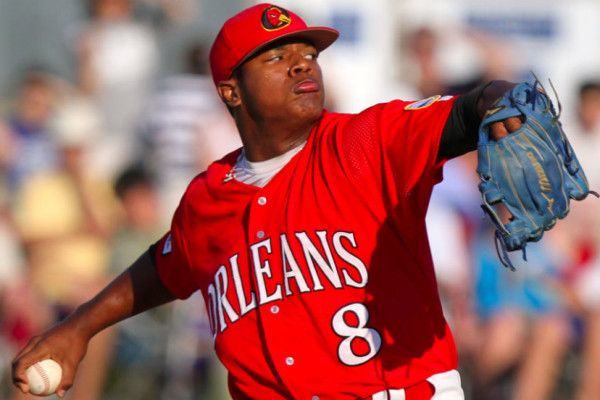 Former Orleans Firebird Marcus Stroman is the Opening Day starter in Toronto.