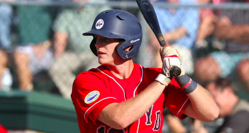 Will Toffey's two-run homer started Y-D on its way to a big offensive day.
